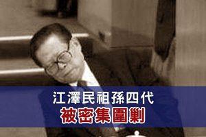谢天奇:江泽民家族四代被围剿 上海帮逾百人被调查