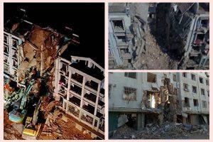 內蒙古一居民樓爆炸    致5死25人傷
