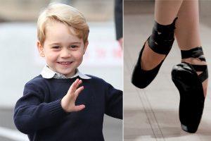 英媒曝: 乔治小王子要学芭蕾啦!