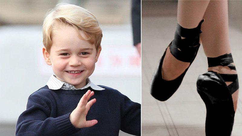 英媒曝: 喬治小王子要學芭蕾啦!