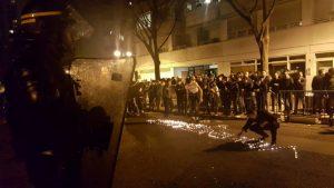 中国人被警杀引暴冲突 直击巴黎火光现场