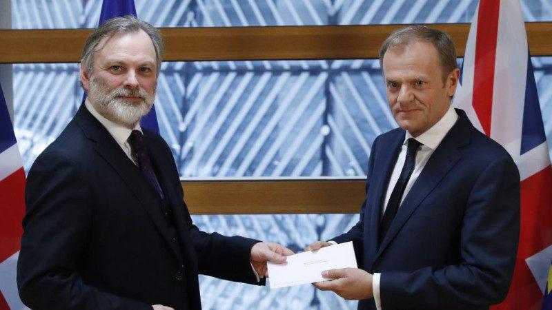 终于脱了!英国正式提分手 欧盟收申请