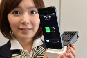 手機沒電了? 索尼讓智能手機隨時從冰箱吸電!