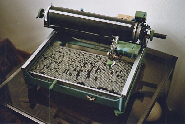 古董中文打字机背后的奥秘和内幕