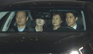 朴槿惠涉賄法院裁准收押 將被關押20天