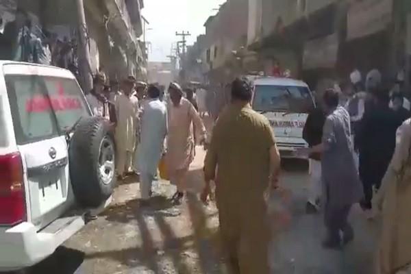 巴基斯坦邊陲城鎮市集爆炸 至少5死40餘傷(視頻)