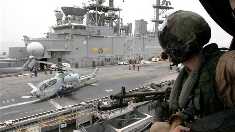 美军20年最大规模 正规军队部署索马利亚