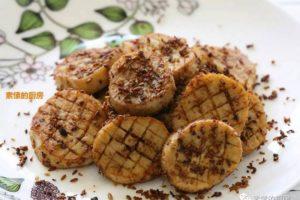 杏鲍菇这样做 比烤肉还好吃 只需一个平底锅 不会下厨的也能做