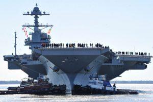 史上最強核動力航母  本月撥交美國海軍