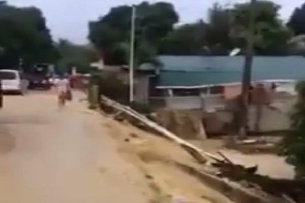 菲中部豪雨引发洪涝 逾70屋被冲倒 已知7死2失踪