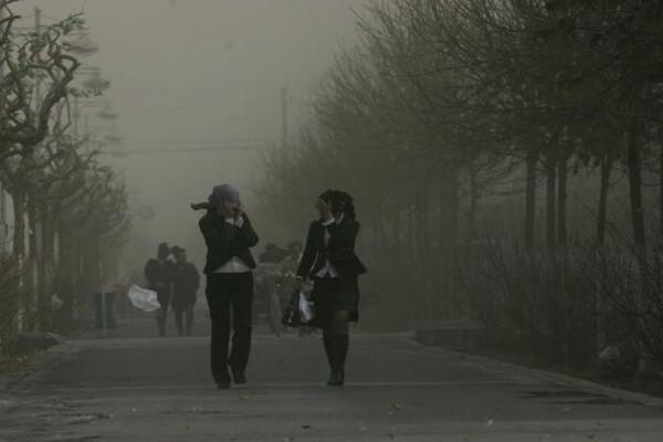 嚴重沙塵天氣席捲大陸