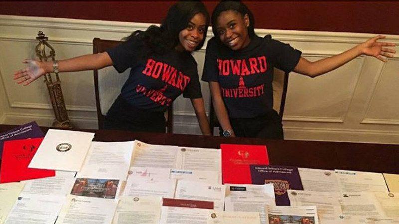 美雙胞胎被40所大學錄取 獎學金90萬