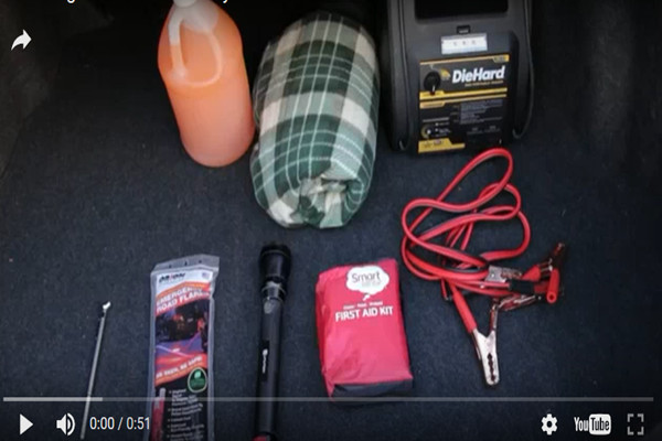 出門遇急 車上必備這8件「救命用品」(視頻)