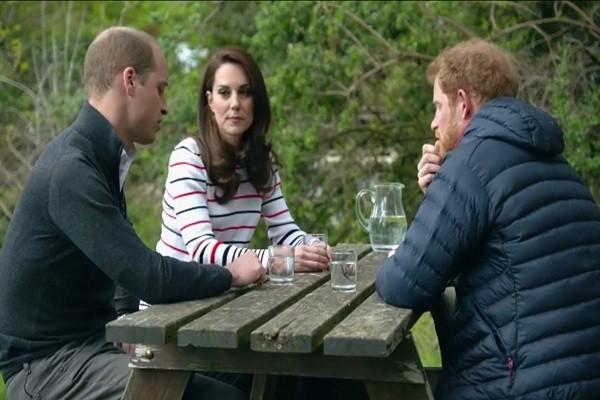 英國王室年輕一輩圍坐談心  從這件事聊起