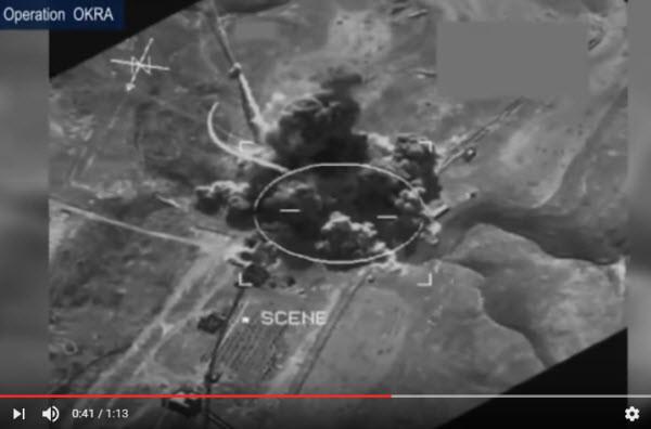 澳洲大黄蜂出动 摧毁IS武器工厂