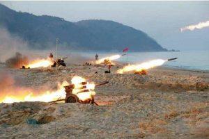 川普高壓生效?朝「建軍節」火炮代替核彈