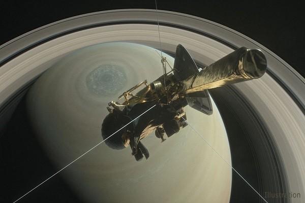 """燃料耗尽前最后任务 """"卡西尼""""壮烈俯冲土星"""