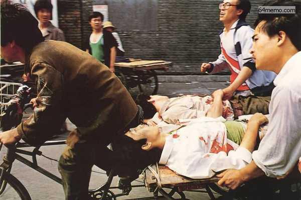 六四亲历者:救护车表明身份后遭乱枪扫射