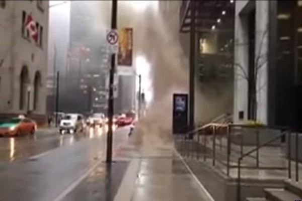 多倫多變壓器起火 爆炸如雷鳴持續幾個小時