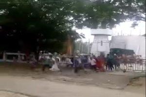 印尼监狱200名囚犯 破坏侧门集体狂奔逃走(视频)