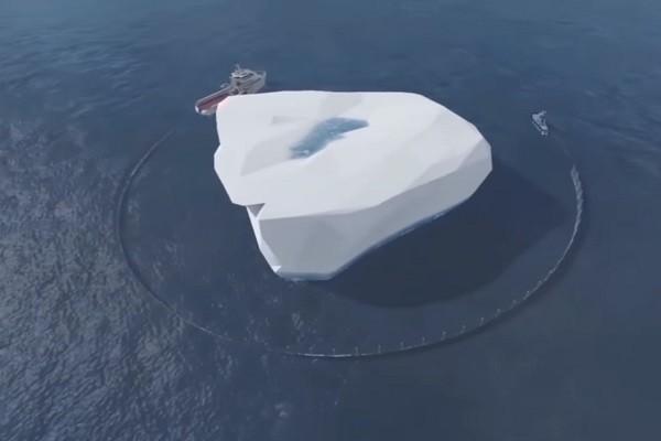 沙特公司研拟南极拖行冰山 供百万人5年用
