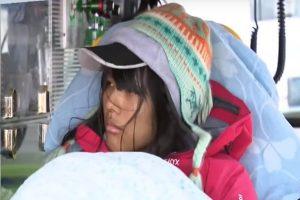 """奇莱山昨寻获""""白凛"""" 今在林道发现15岁少女"""