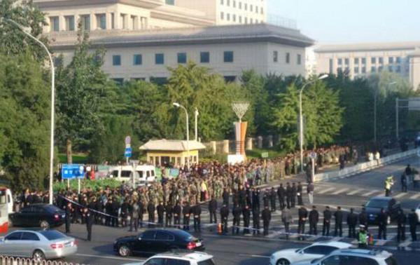老兵擬集體進京上訪遭穩控 內部錄音示官方定性有變
