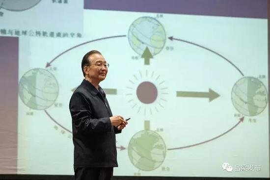 「露面戰」開打?溫家寶高調撰文悼念數學家吳文俊