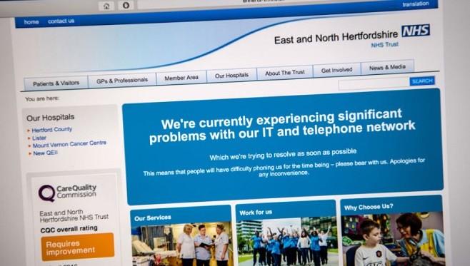 国际骇客攻击波及逾70国 英国医院停止看诊救护