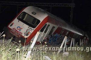 希臘火車5節車廂脫軌 17輛救火車急赴現場