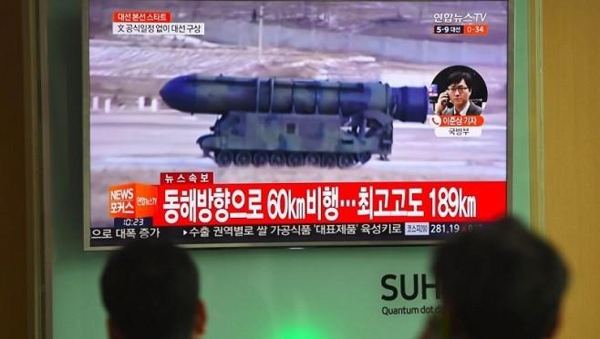朝鲜又发射导弹 飞了700公里