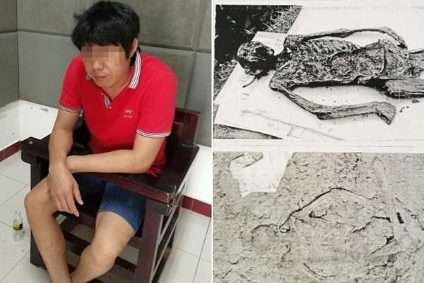 """湖北""""中国第一古尸案""""  23年后主犯落网"""