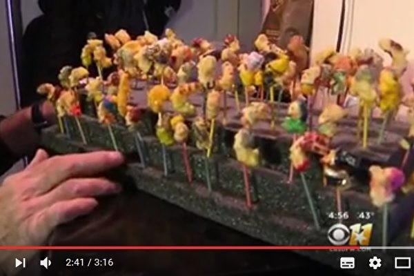 爆米花变身艺术品 你见过吗?