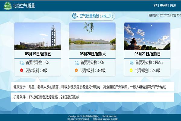 京津冀臭氧成头号污染  超标恐将持续到9月