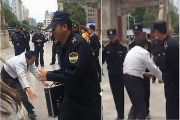 雲南城管戲弄擺攤盲人  網民炮轟「缺德」