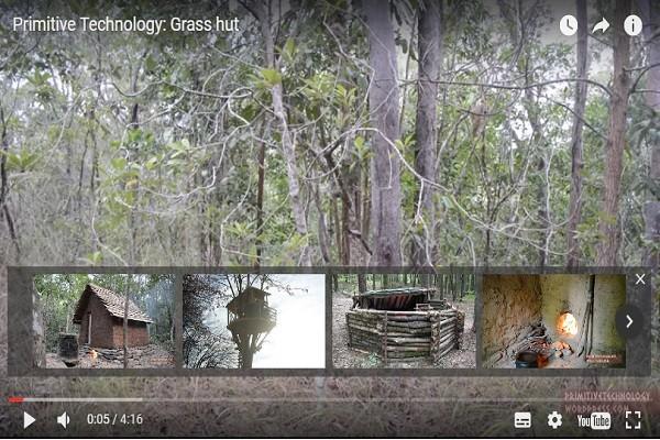 专门分享原始生存技术 神秘吸睛让人叹为观止(视频)
