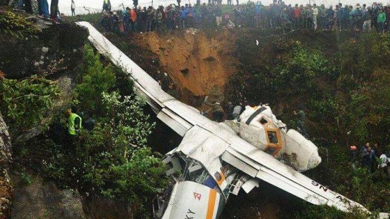 飛抵全球最危險機場 貨機撞崖 1死2傷