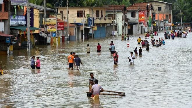 斯里兰卡遭14年来最严重洪灾 122人死50万人被迫撤离