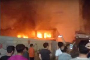 疑爆炸引發大火 伊朗南部購物中心37傷