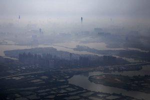 中国水污成灾 天津95%地表水不能喝
