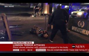 倫敦橋貨車撞人 6死48傷 3凶嫌遭警擊斃