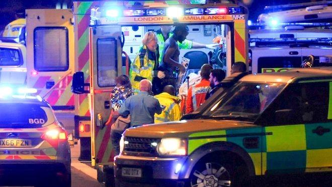 倫敦恐襲 衝撞砍人釀55死傷 3兇手被擊斃(組圖)