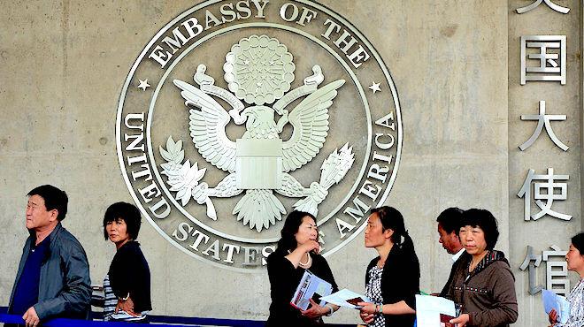 中国人申请赴美签证 新增9大信息要求