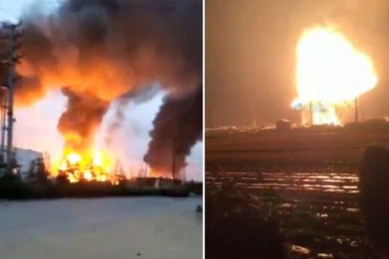 山东石化厂爆炸 官称10死疑瞒报 民揭至少20失踪