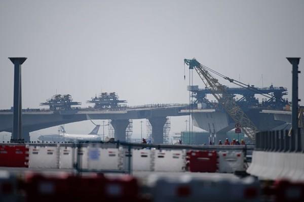 港府坦承港珠澳大桥造假:涉210个样本 75%在结构位置