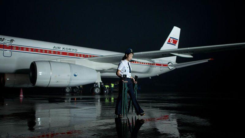 朝鮮客機驚魂 9千米高空襟翼脫落