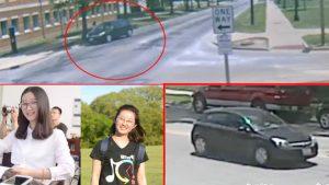 中国女生在美离奇失踪 上神秘黑色车画面曝光