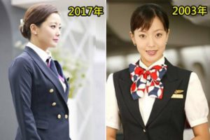 時隔14年 金喜善再扮空姐 網友驚: 39歲的她竟更年輕