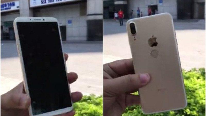 苹果还没开卖 深圳即售iPhone 8 网友犀利点评