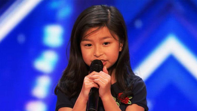 9岁香港女孩美国秀才艺 震惊《美国达人秀》